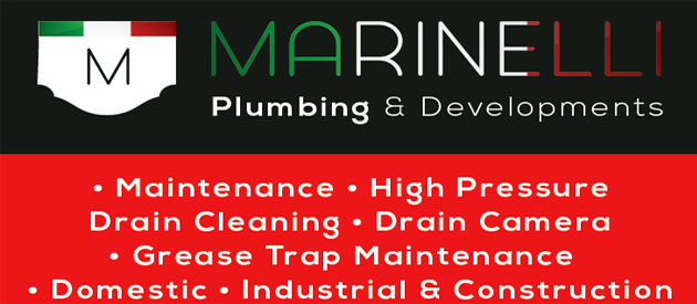 Marinelli Plumbing Contractors cc, ballito, north coast, kwazulu-natal, marinelli, plumbing, developments, Maintenance, High Pressure Drain Cleaning, Drain Camera, Grease Trap Maintenance, Domestic, Industrial & Construction, BBBEE Level three (4) Status